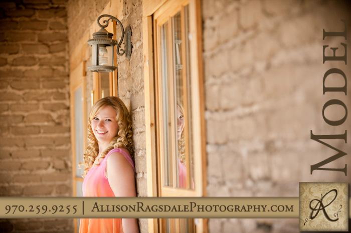Farmhouse senior picture