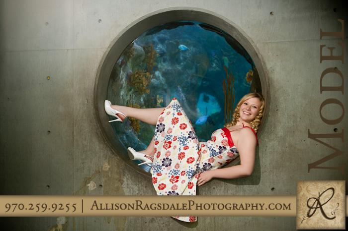 Aquarium Senior Picture
