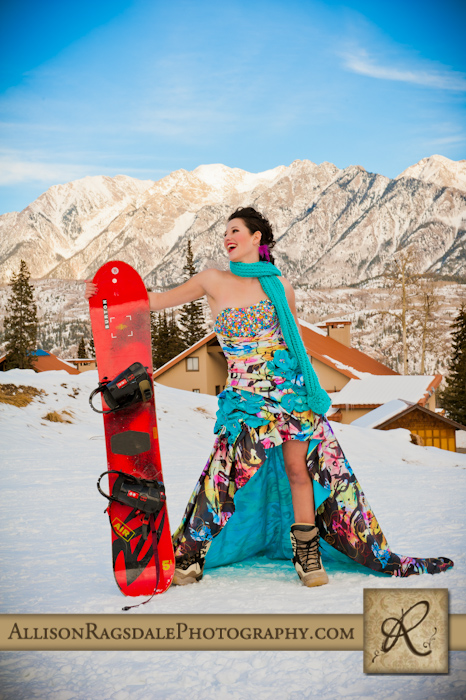 Durango Mountain Resort Prom Dress