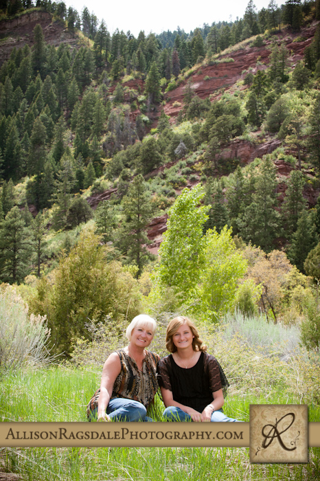 Red cliffs durango mother daughter pic
