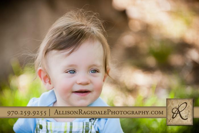 blue eyes baby boy picture in durango park