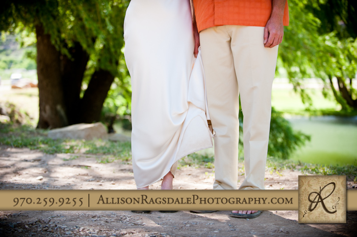 bride and groom durango style footwear picture