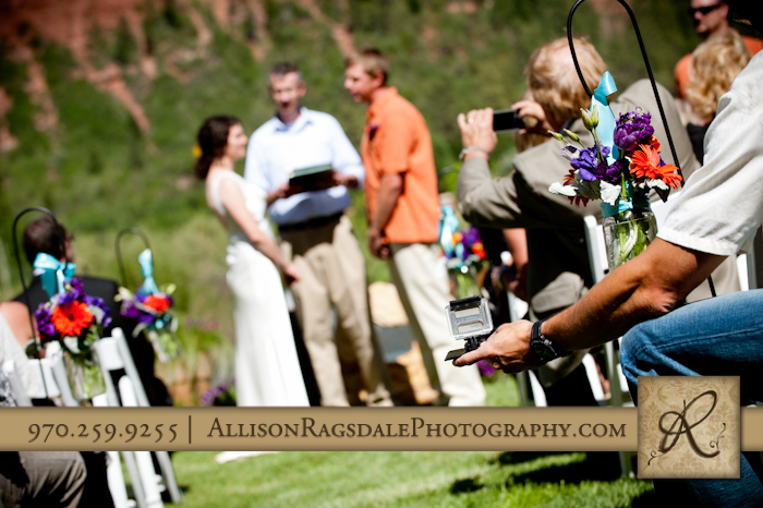 go pro camera recording wedding ceremony