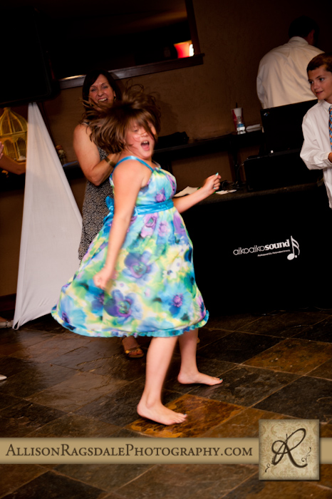 dancing at wedding reception at purgys
