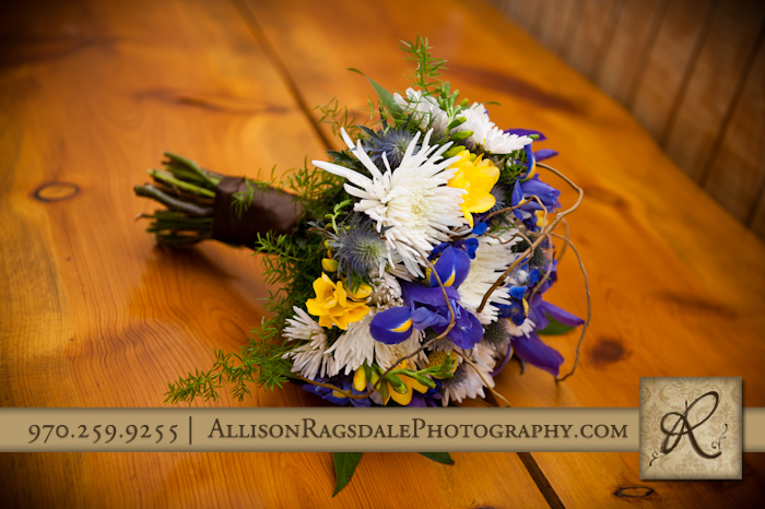 aprils garden in durango bridal bouquet
