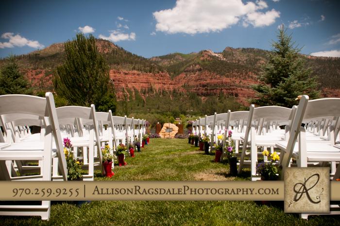 durango wedding venue animas valley sleeping beauty ranch