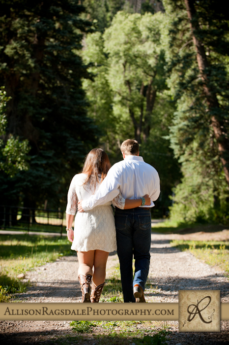 durango engagement photographer; bride and groom to be