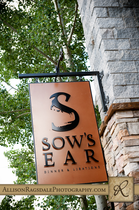 sow's ear sign for silverpick lodge durango