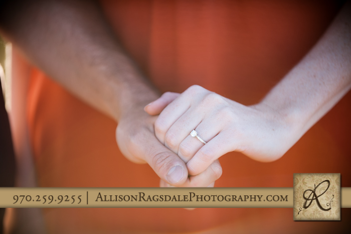 engagement ring picture in durango colorado