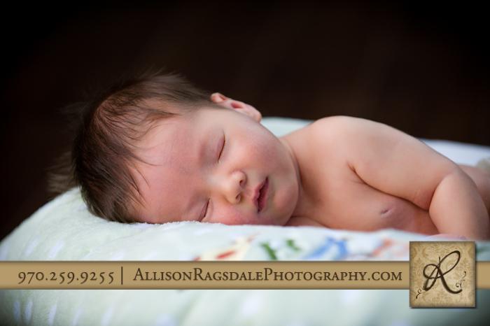 baby boy asleep photo durango co