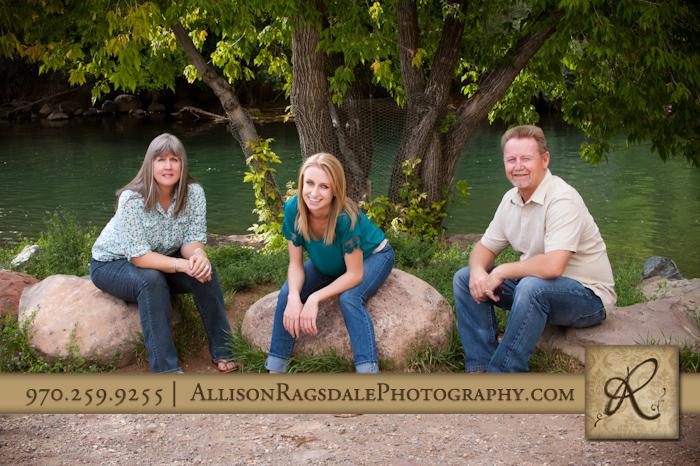 farmington high school senior and family come to durango for portraits