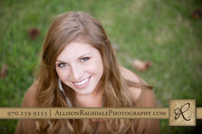 durango high school senior girl portrait