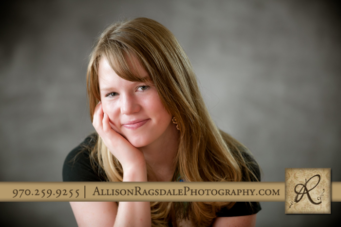 young lady picture durango portrait studio