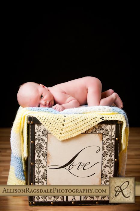 durango baby picture in studio
