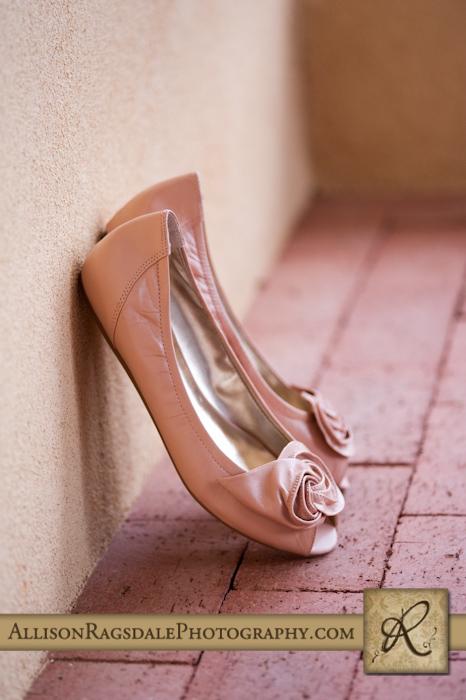 brides shoes at blue lake ranch durango co