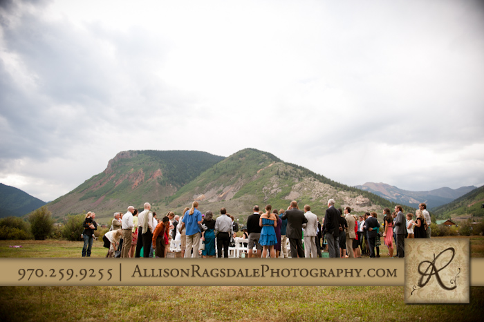 Kendall Mountain Silverton Wedding Ceremony