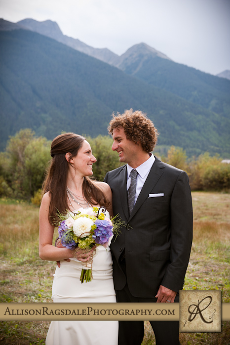 newlyweds picture silverton colorado