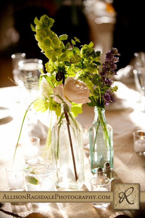 sunlit table settings wedding recpetion kendall mountain silverton colorado