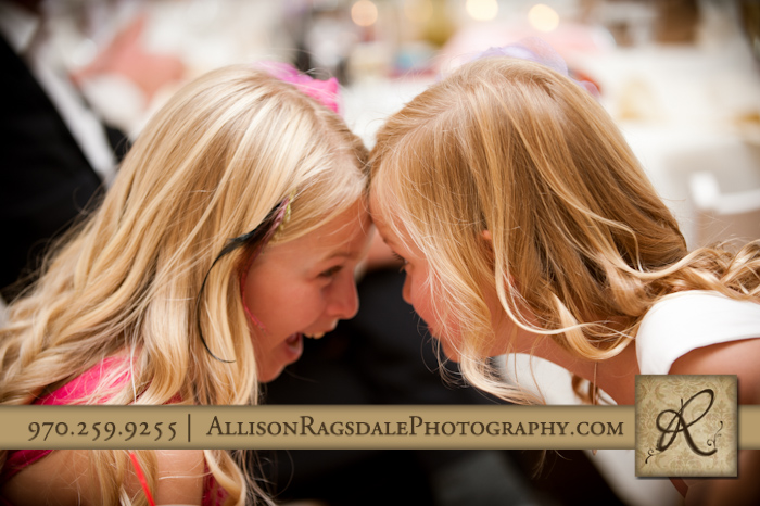 adorable flower girls silverton wedding reception