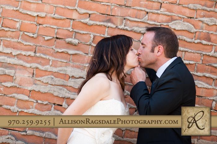 newlyweds in silverton colorado photo