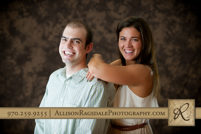 brother and sister picture in durango portrait studio
