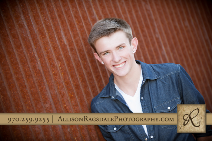 senior picture animas hs durango co