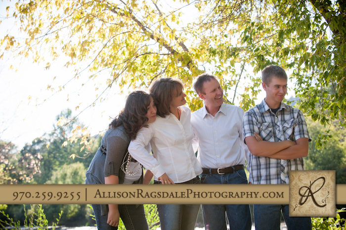 Family laughing pic