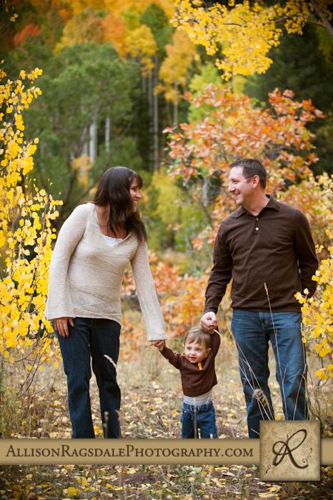 family picture fall durango colorado
