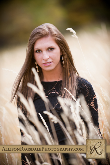 Durango High Senior in long grass