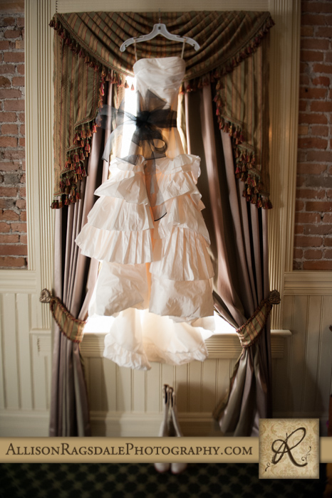 wedding dress beaumont hotel ouray co wedding photo