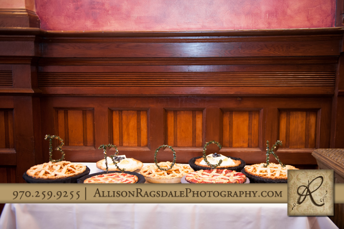 beaumont hotel ouray co wedding photo pies spelling grooms last name