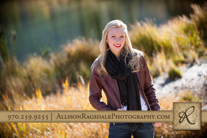 Senior Portrait of McKenna Durango CO