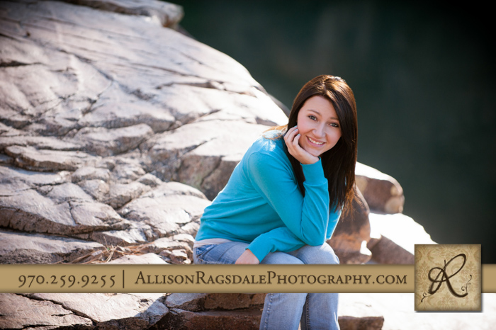 Baker's Senior Portrait Durango Colorado