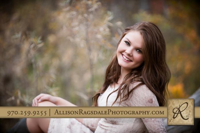 lightner creek durango co senior girl portrait