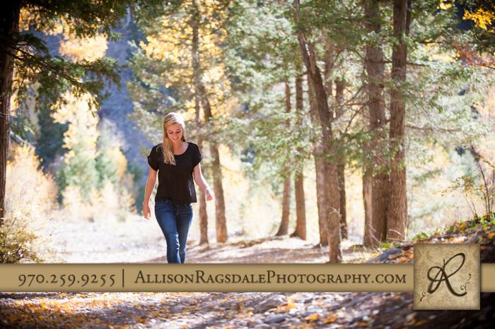 Walking Senior Portrait
