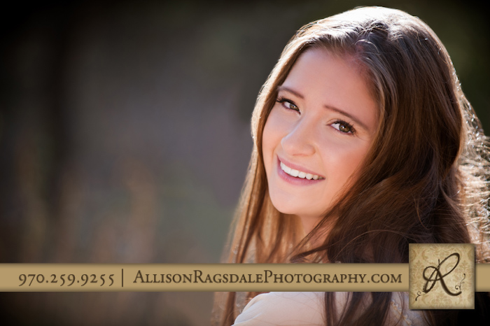 cute senior photo