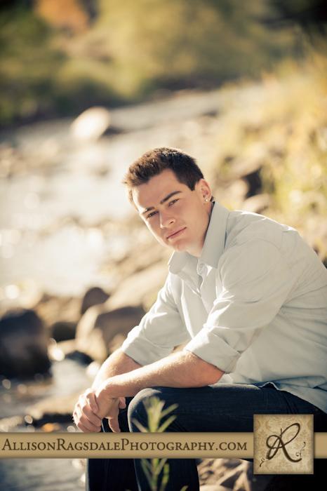 Senior guy photo