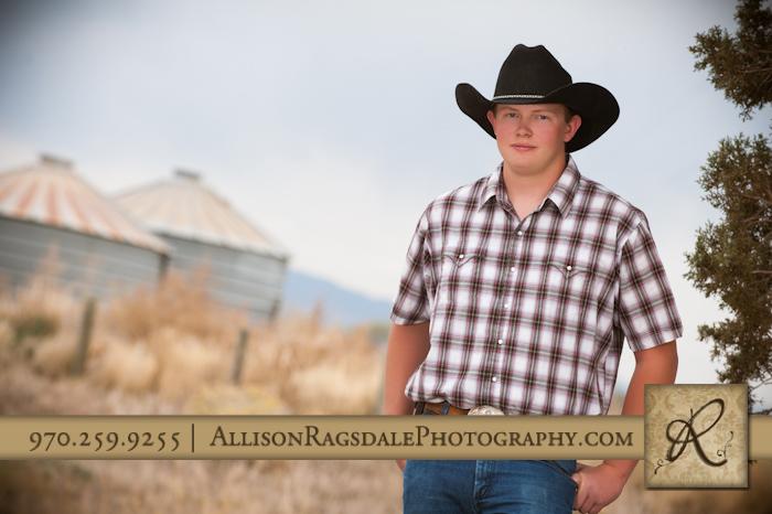 Cowboy Durango Senior pictures