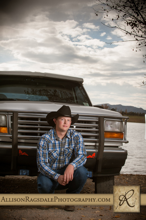 Senior pictures with truck