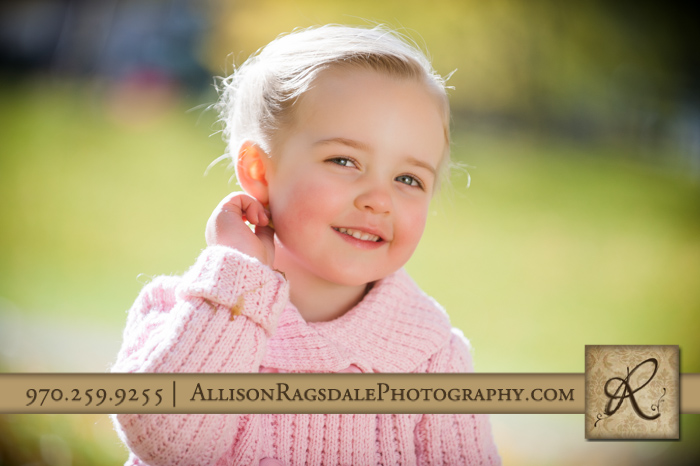beautiful child portrait durango co