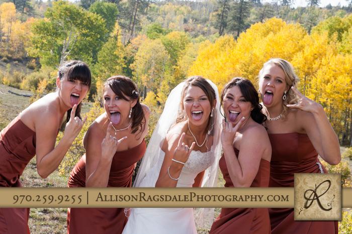 bridal party rockstars picture mancos colorado