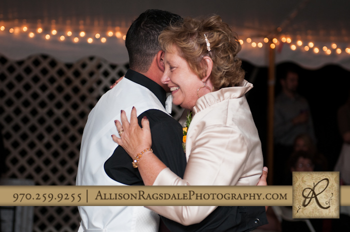 mom and son first dance wedding reception mancos co