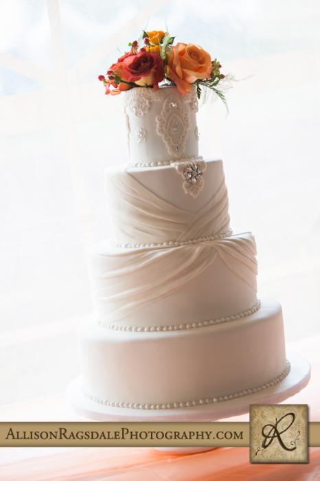 wedding cake mancos colorado wedding reception