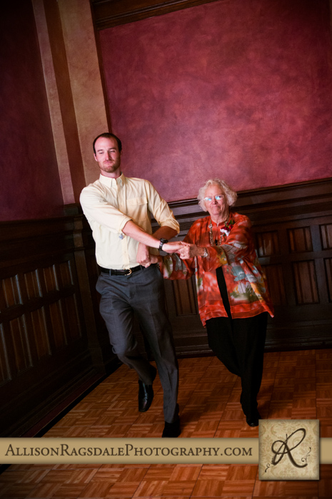 wedding reception dancing beaumont hotel ouray co wedding photo