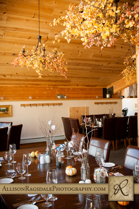 wedding reception at sows ear silverpick lodge durango co