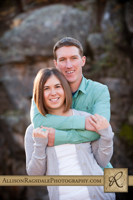bakers bridge durango colorado engagement picture
