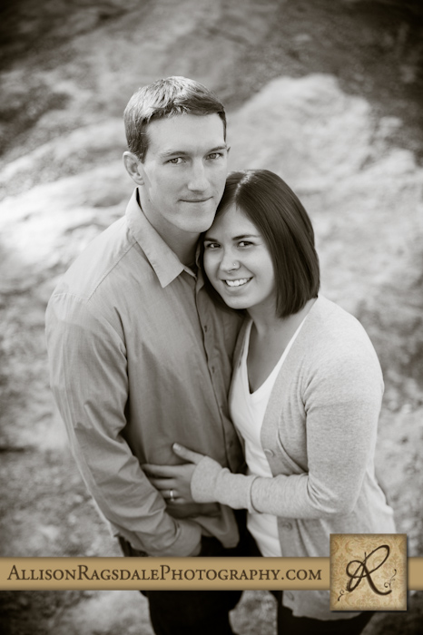 engagement portrait durango colorado