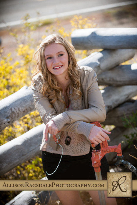 Fall Senior Portraits by Allison Ragsdale