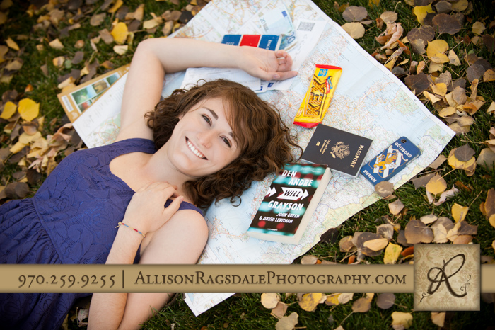 sweden themed senior picture durango co