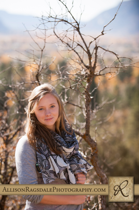 animas valley background senior girl pic durango co